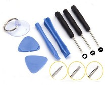 500 sets/lot 8 in 1 Opening Pry Tools Screwdriver Repair Kit Set Screwdriver For iPhone htc nokia Samsung LG mobile phone(China (Mainland))