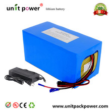 Free customs taxes High quality DIY 48 volt li-ion battery pack with charger and BMS for 48v 15ah lithium battery pack(China (Mainland))