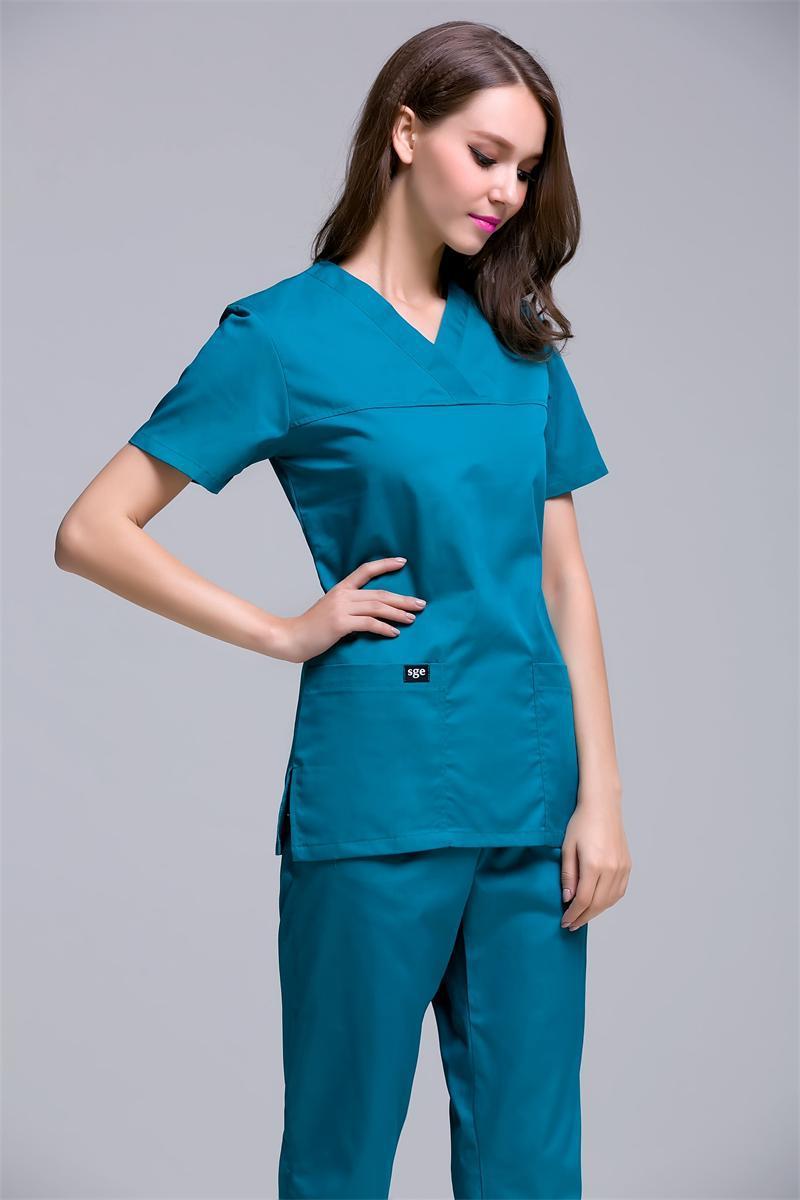 Scrubs clothing for women