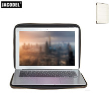 Buy Jacodel New Portable Laptop Sleeve Case 13.3 Macbook Air 13 Pro 13.3 Notebook Tablet Case Cover Xiaomi Air 13 Briefcase for $17.58 in AliExpress store