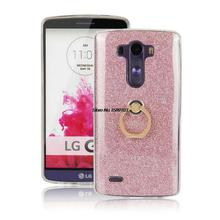 Buy LG G3 Case Ring Holder Slim Dual TPU Soft Scratchproof Shiny Bling Glitter Cover LGG3 for $2.60 in AliExpress store