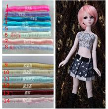 5*100cm Doll Wigs Fringe Hair BJD/SD Doll Hair DIY High-temperature Wire Many colors Wavy Fringe Hair Wigs
