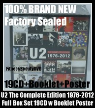 U2 The Complete Edition  19   Booklet Poster Full Box Se t Complete