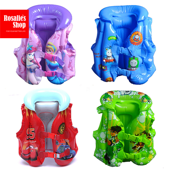 Baby Inflatable Swim Vest Approximate inflated water sport baby girls boys Thomas and friends Cars McQueen(China (Mainland))