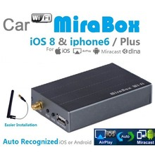 5pcs/lot Screen Mirror Car Dvd Player car mirabox car wifi airplay MiraCast For IOS iPhone Android Wholesale(China (Mainland))