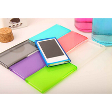 High Quality Candy Color Soft TPU Silicone Case cover for Apple iPod Nano 7 7G 7th generation(China (Mainland))