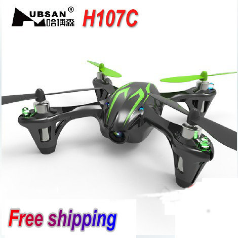 Hubsan X4 H107C RC Quadcopter With Camera and Protection Cover RTF 2.4g 4ch h107c UFO better than V939 RC helicopter Toy(China (Mainland))