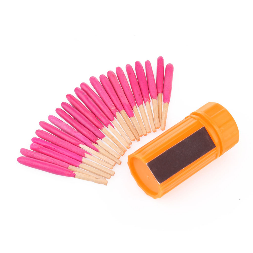Free Shipping 20 PCS Windproof Waterproof Emergency Lighter Survival Tool Kit Gear Matches For Outdoor Sport Hiking Camping(China (Mainland))