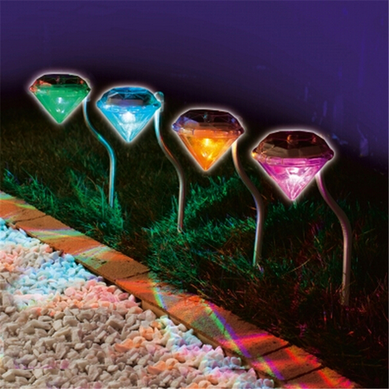 Buy stainless solar lawn light for garden for Outdoor decorative lights