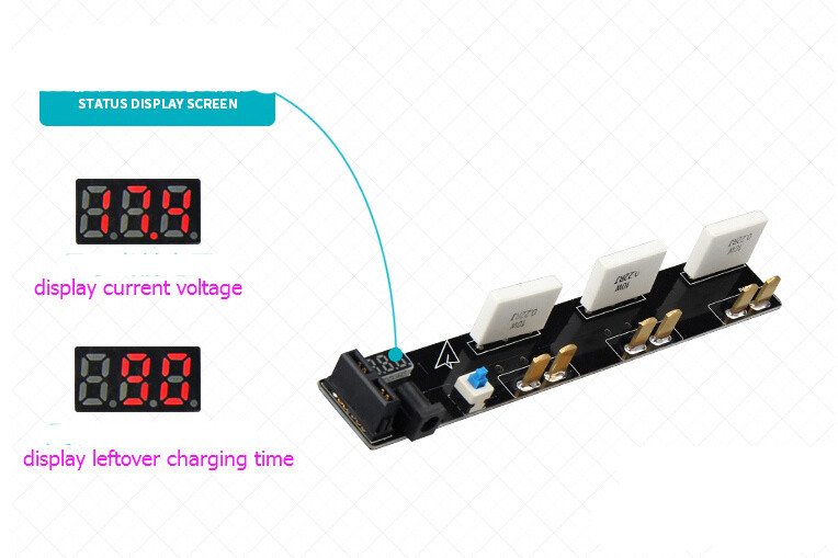 DJI phantom 3 accessories Battery Parrallel Charger Board fast charge the battery while charging three security support