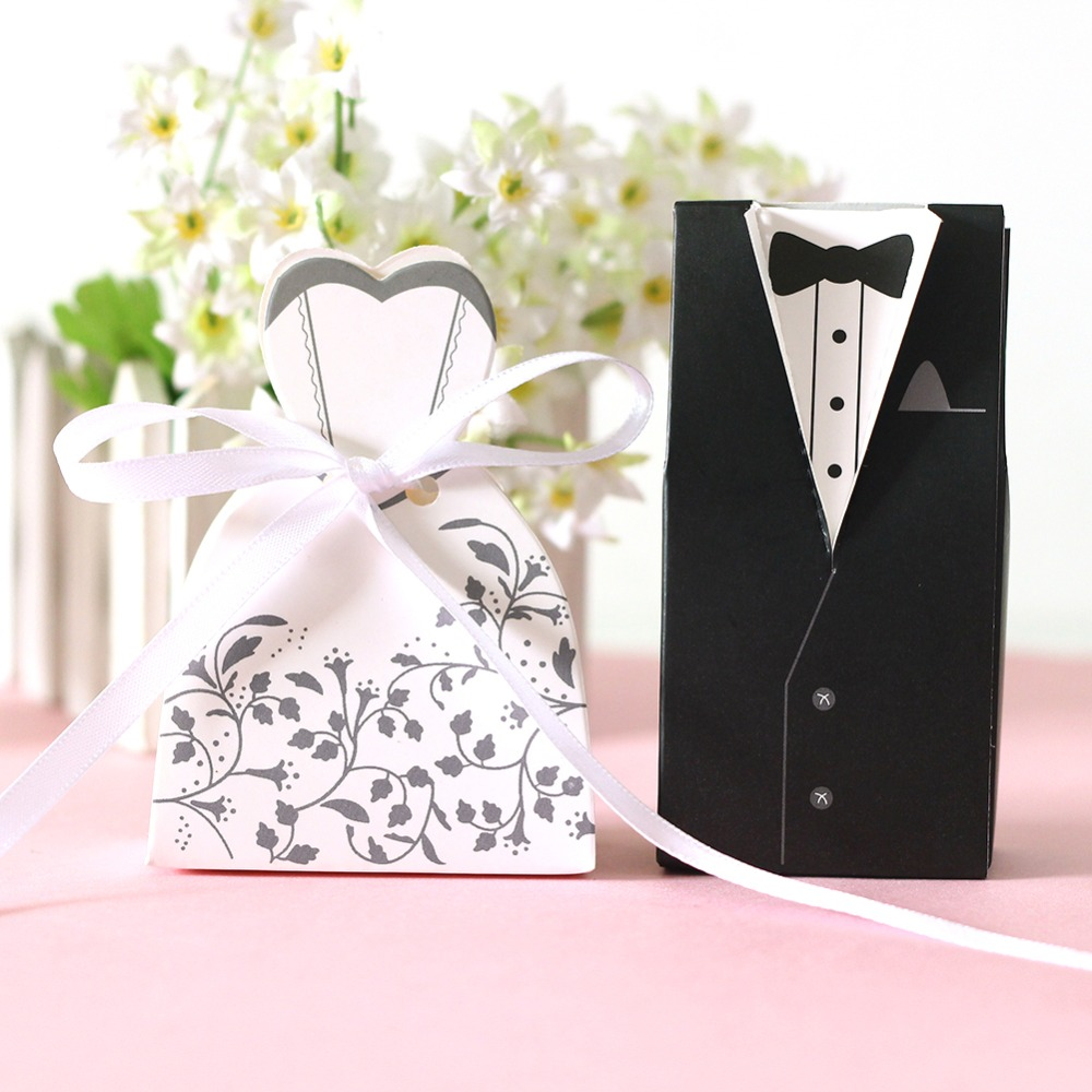 Wedding Gift Bags Boxes : Wedding Candy Box Bride And Groom Candy Bag Wedding Favor Box Gift ...