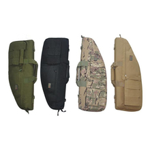 70cm Tactical Airsoft Rifle bag Hunting Paintball Shooting Gun Bag Military Army Carbine Rifle Case With 3 Pouches(China (Mainland))