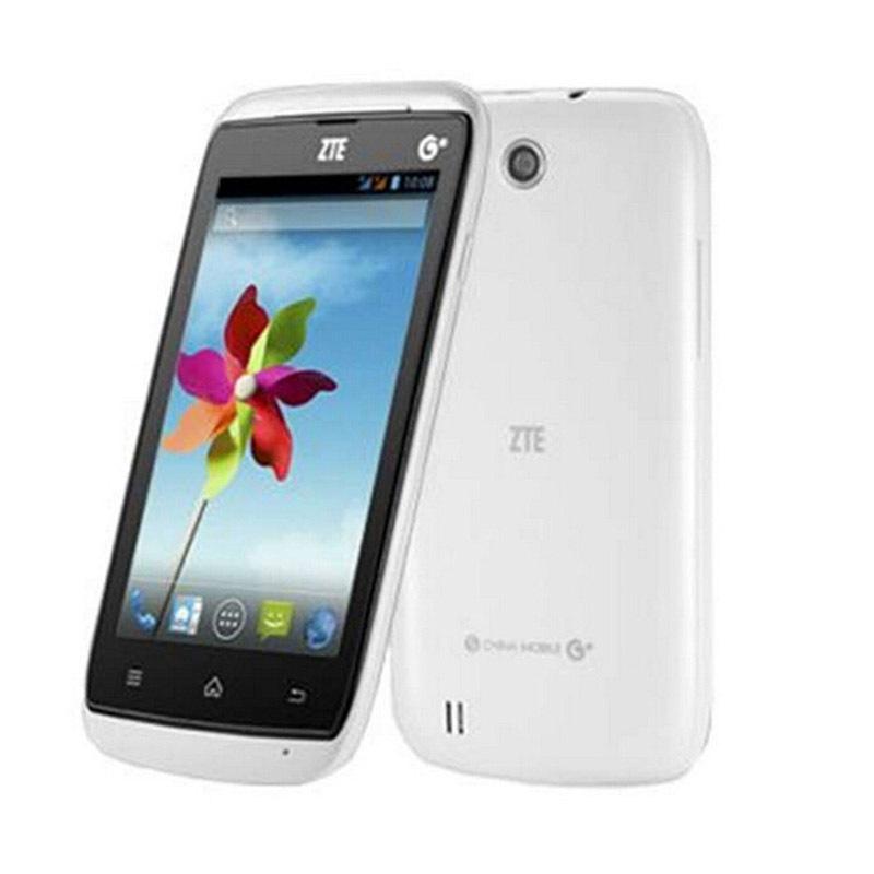 Original ZTE U809 Android 4.0 MTK6572 Dual Core 4'' Screen Cheap Smart Phone GPS FM WIFI Bluetooth GSM Network Multi Language(China (Mainland))