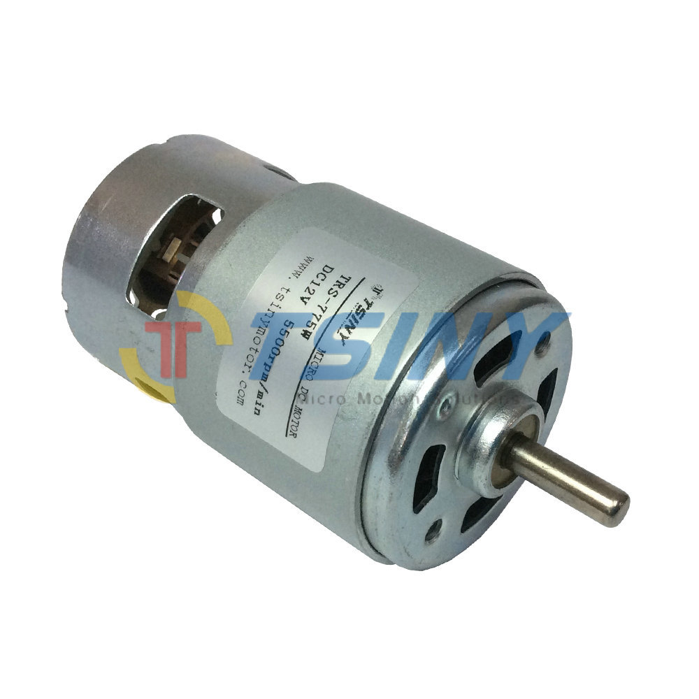 Cw ccw permanent magnet dc 12v high torque low speed 5500 for Low rpm motor dc
