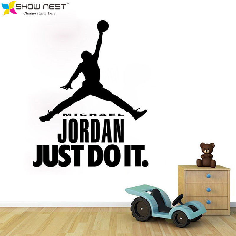 popular jordan wall decal buy cheap jordan wall decal lots free jordan stickers submited images