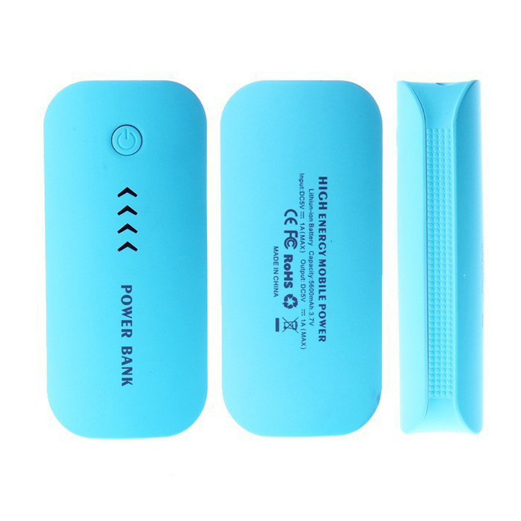 High Quality 5600mAh Feather Shape Portable Phone Battery Charger Mobile Power bank for mobile phones