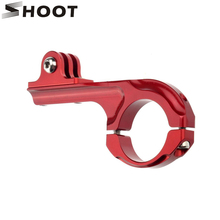 Buy SHOOT Aluminum Alloy Long Bicycle Bike Handlebar Clamp Clip Mount GoPro Hero 5 4 3 Session SJCAM SJ4000 SJ Xiaomi Yi 4K H9 for $3.10 in AliExpress store