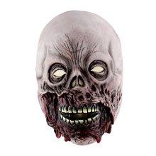 Латексная Маска на Хэллоуин страшные маски латексная маска с шапкой для карнавальный на Хэллоуин футболка бодибилдера реалистичные праздн...(China)