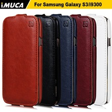 New designer IMUCA mobile phone bags&cases for samsung galaxy s3 i9300 cell phone smart flip leather cases and covers(China (Mainland))