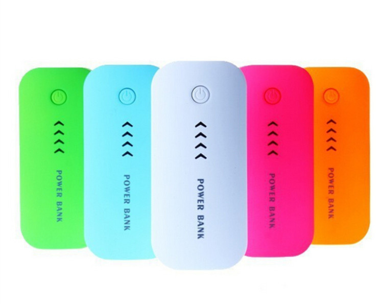 Power Bank 5600Mah Portable powerbank 18650 mobile charger External Battery Charger for mobile phone Free shipping(China (Mainland))