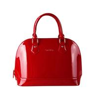 European fashion women lacquer bag PU leather shell bags shoulder bag of women handbags Medium cellphone bag ladies Clutch bolsa