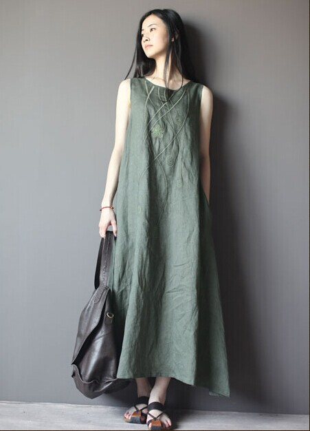 Women Casual Long Dress Excellent Gray Women Casual Long