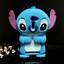 Cute 3D Cartoon Stich Soft Silicone Back Cover Lilo Stitch Case ASUS Zenfone 2 ZE500CL 5 inch Asus Asus2 - International Fashion Goods Stores store