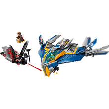 Toys for children CHINA BRAND10251 self-locking bricks Compatible with Lego 76021 Superheroes The Milano Spaceship Rescue(China (Mainland))