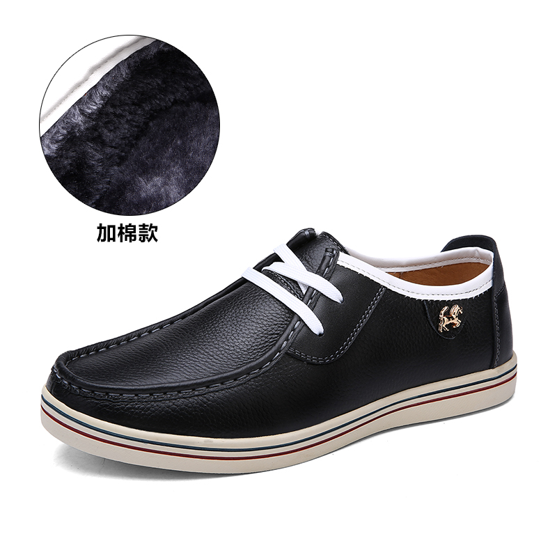 men fashion casual genuine leather shoes flats brand shoes comfortable high quality for daily leisure and outdoor creepers