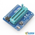 Elecrow AVR ISP Shield for Arduino Board Used to Download Bootloader Burning ATmega328P AVR ISP Programmer