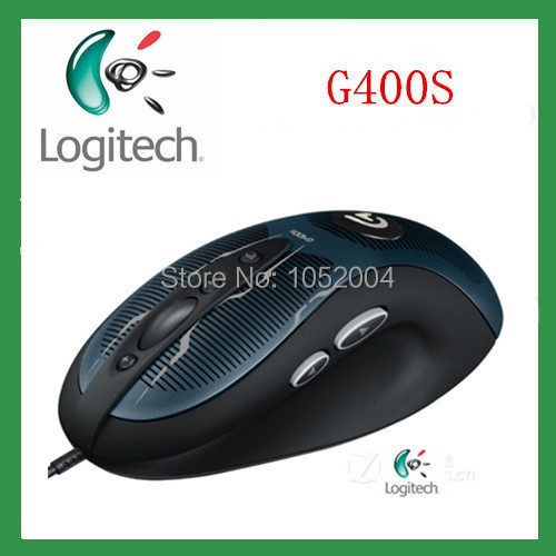 High quality 100% Original New Logitech G400s wired mouse optical mouse gaming mouse 4000dpi Gaming Mouse free shipping Black(China (Mainland))