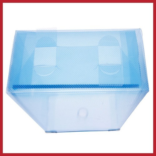 2014 New Sale dealbox Hot Colorful Storage Drawer Container Organizer Case Foldable Plastic Shoe Box wholesale Newest Fashion(China (Mainland))