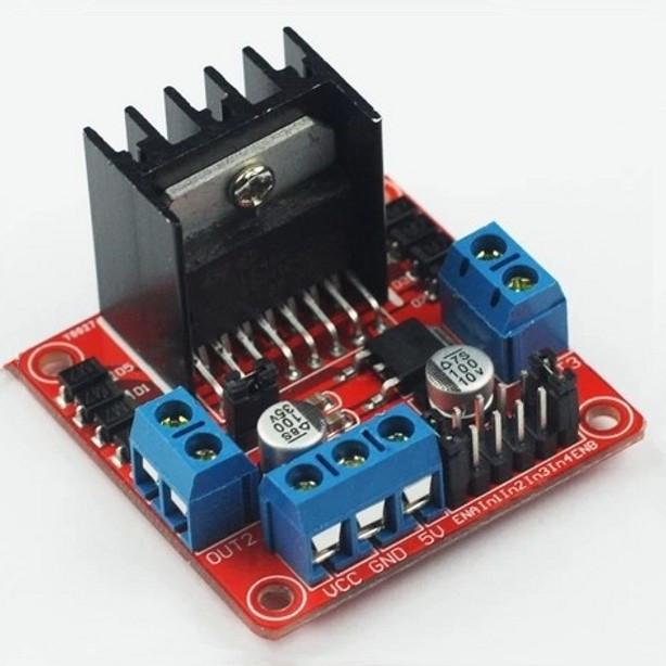 L n motor driver board module for arduino stepper