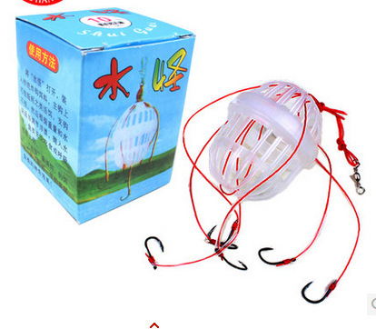 Fishing Tackle Sea Fishing Box Hook Monsters with Six Strong Fishing Hooks free shipping