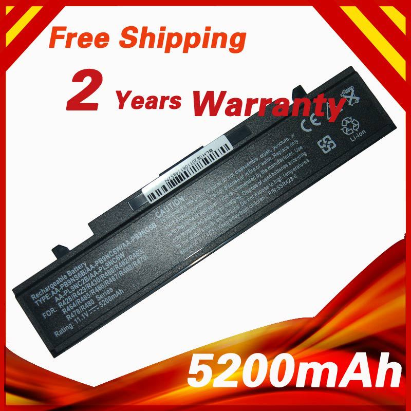 Laptop Battery For Samsung Q320 Q430 R428 R429 R430 R620 R718 R719 R720 R780 R528 R517 R520 R465 R466 R467 R468 R470 R478 R480(China (Mainland))