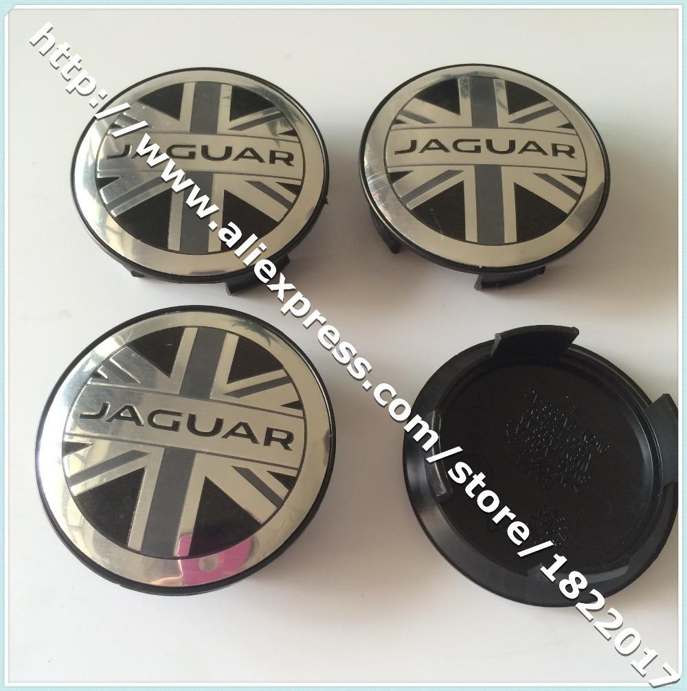 Hot selling DHL 1000pcs lot UK map Jaguar logo wheel center hub caps car covers car