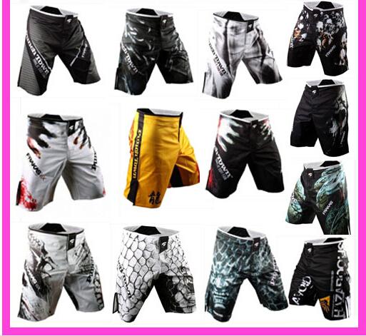 wholesale free shipping Brand boxing shorts MMA Fight Shorts Trunks Martial Arts Wear Pretorian Boxing 20Sanda Shorts Muay Thai(China (Mainland))