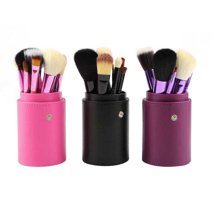 High Quality 12Pcs Professional Cosmetic Makeup Brush Tool Kit Eyeshadow Powder Concealer make up beauty cosmetics