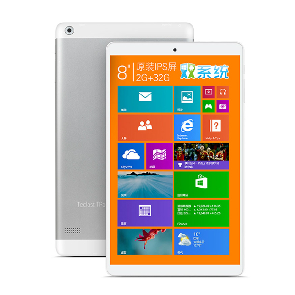 8 inch Teclast X80H Dual Boots Tablet PC Windows 8 1 Android 4 4 Intel Z3735F