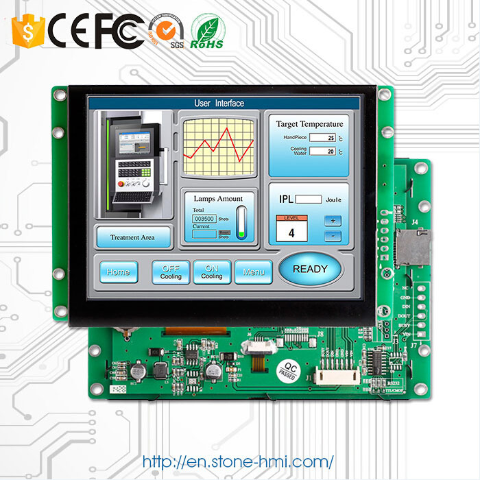 RS232 RS485 TTL UART port 12.1 inch LCD display panel(China (Mainland))