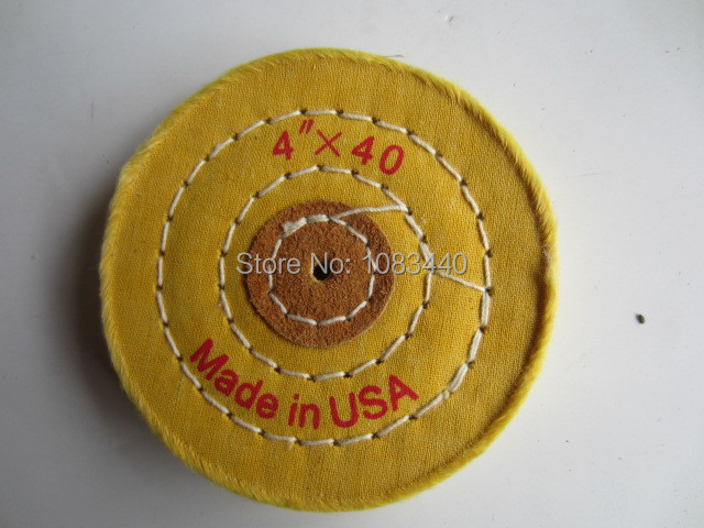 4'' 100mm Sawing Cloth Polishing Wheel for Various Glazing Machine to Buffing Metals & Grinding Crystal 40 Floors Covers(China (Mainland))
