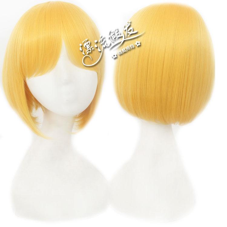 Гаджет  cosplay wig The seven sea song Golden hair high temperature wire None Изготовление под заказ