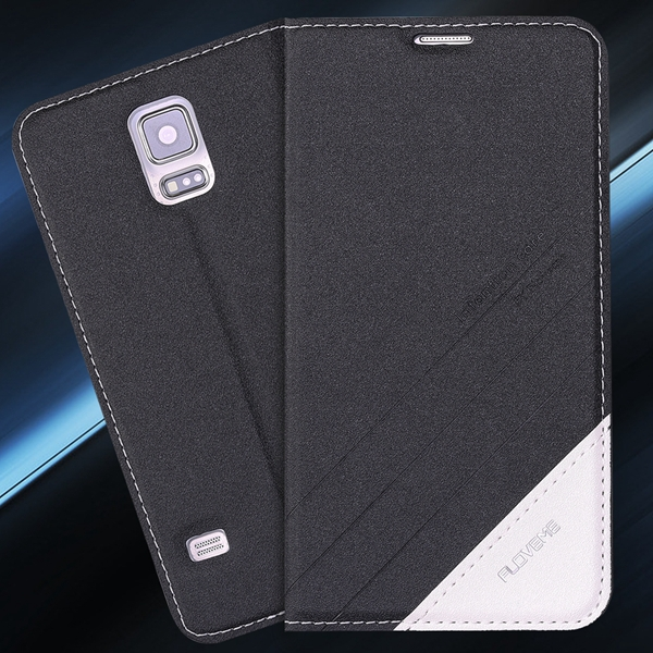 S5 S6 Original Brand Case Luxury PU Leather Cover For Samsung Galaxy S5 SV I9600 S6 G9200 Full Protect Skin Stand Display Case(China (Mainland))