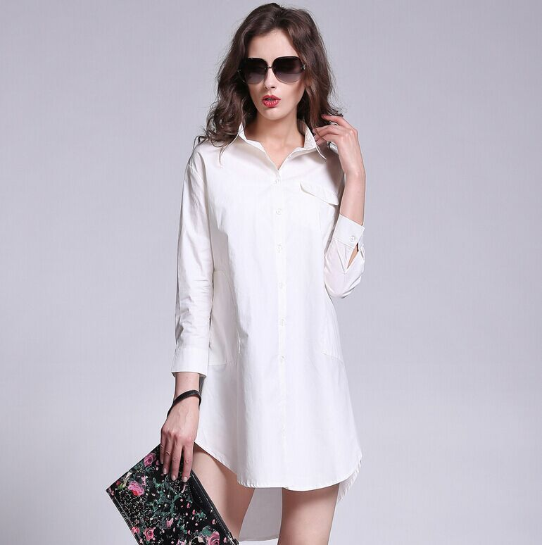 24 unique white womens dress shirt Women s long sleeve shirt dress