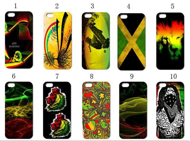 10designs fahion style retail hybrid Rasta white font b Mobile b font font b Phone b