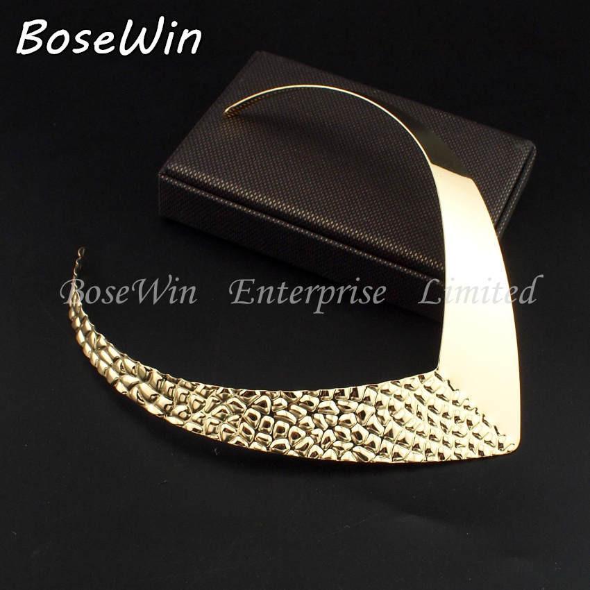2014 популярные ну вечеринку крутящие моменты чокеры мода уникальный дизайн металл биб ошейники ожерелья женщины себе ювелирные изделия CE2525