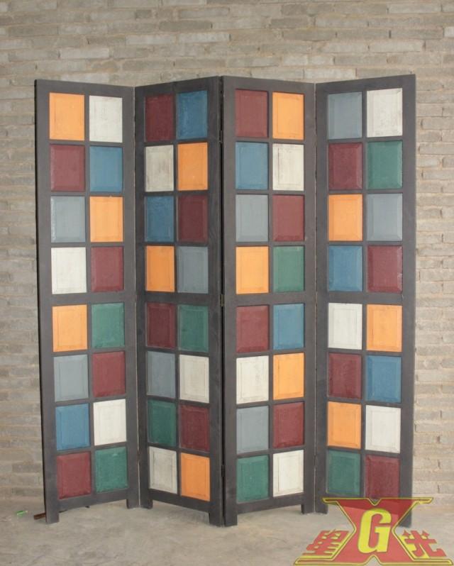 folding screen wood folding screen room divider paravent