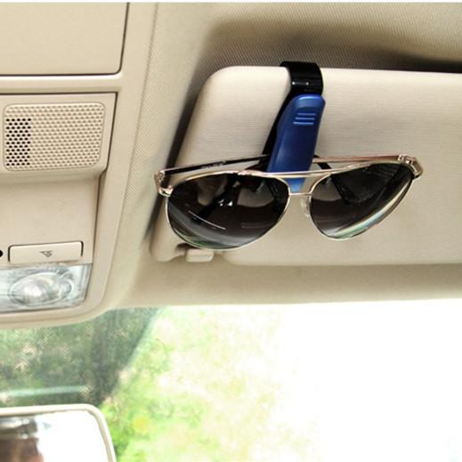 Cool Glasses Holder Clip Auto Vehicle Visor Sunglasses Eyeglasses Support, Universal Glasses Clip Holder for Business Bank Card(China (Mainland))