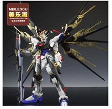Brinquedos free Shipping Model Mg004 1:100 Deluxe Edition Strike Freedom Gundam Original Double Bracket Children's Toys Da016