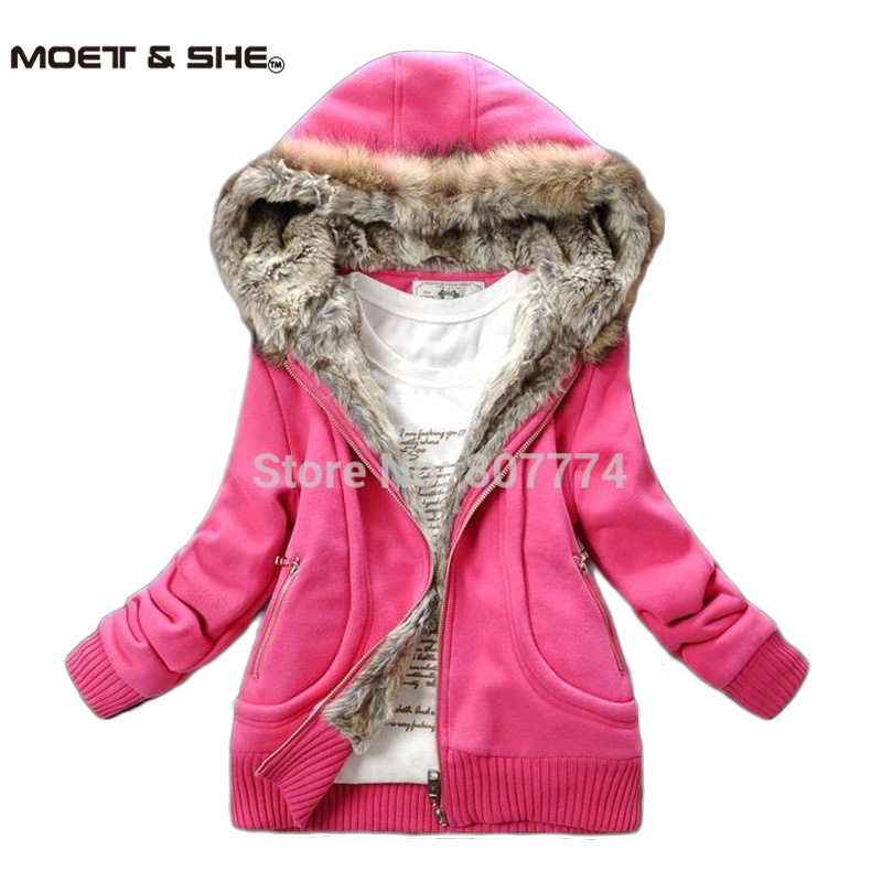 Three Color Freeshipping Manufacturers Supply Women Plus Large Fur Collar Hooded Sweater Women Clothing M,L,XL,XXL,3XL,4XL,5XLОдежда и ак�е��уары<br><br><br>Aliexpress